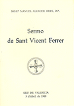 Sermó de Sant Vicent Ferrer